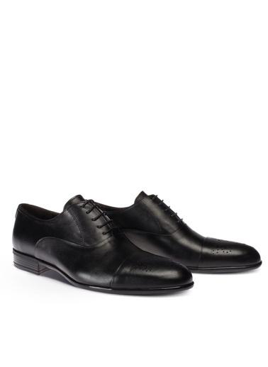 Deery Hakiki Deri Ayakkabı Siyah